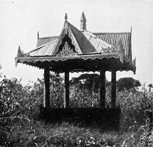 Tharrawaddy Min - Tharrawaddy Min's tomb.