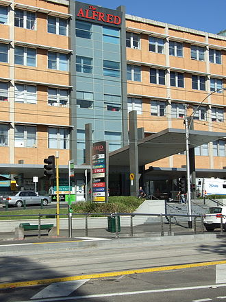 The Alfred Hospital - The Alfred Hospital, Commercial Road, Melbourne