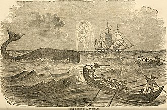 Nantucket during the American Revolutionary War era - Whaling in the early colonial era