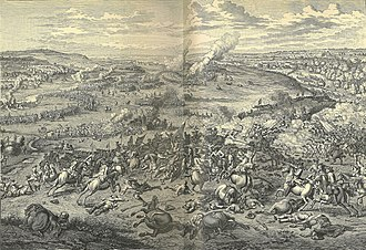 Battle of Blenheim - The Battle of Blenheim by Huchtenburg