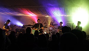 Halifax Pop Explosion - The Bicycles performing in October 2012