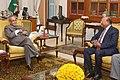 The Commerce Minister of People's Republic of Bangladesh, Mr. Tofail Ahmed calling on the President, Shri Pranab Mukherjee, at Rashtrapati Bhavan, in New Delhi on January 18, 2015.jpg