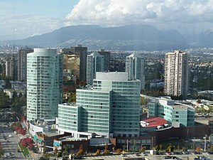 Metrotown, Burnaby - The Crystal Mall complex, opened between 1999 and 2000