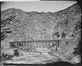 The Devil's Gate Bridge. Echo Canyon. Summit County, Utah - NARA - 516646.tif