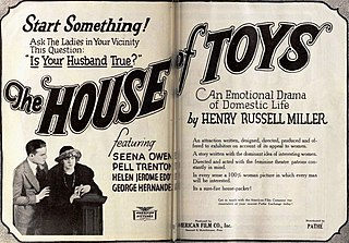 <i>The House of Toys</i> 1920 silent film by George L. Cox
