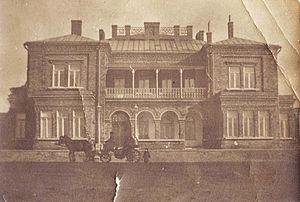John Hughes (businessman) - Hughes' home in Hughesovka, c.1900