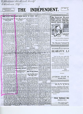 Lynching of Laura and L. D. Nelson - The Independent, May 25, 1911