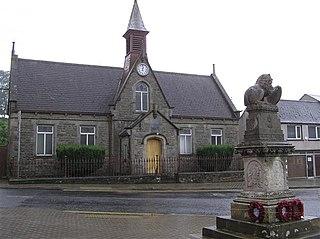 Brookeborough village in United Kingdom