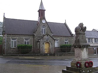 Brookeborough - Image: The Lady Brook Memorial Hall, Brookeborough geograph.org.uk 912428