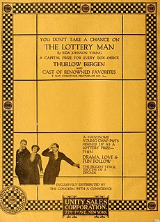 <i>The Lottery Man</i> 1916 film