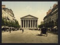 The Madeleine, and rue Royale, Paris, France-LCCN2001698526.tif