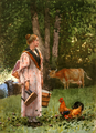 The Milk Maid by Winslow Homer, 1878.png