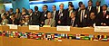 The Minister of State (Independent Charge) for Consumer Affairs, Food and Public Distribution, Professor K.V. Thomas at the opening session of the Food and Agriculture Organization (FAO) on World Food Security, at Rome.jpg