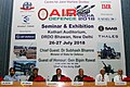 The Minister of State for Defence, Dr. Subhash Ramrao Bhamre at the inaugural function of Air Defence India 2018 Seminar & Exhibition, in New Delhi.JPG