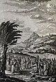 The Phillip Medhurst Picture Torah 403. Moses striking the rock. Exodus cap 17 v 6. Marillier.jpg