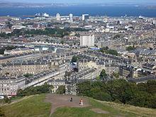 220px The Pilrig area from the Calton Hill%2C Edinburgh