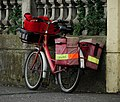 The Postman's bike - geograph.org.uk - 1565397.jpg