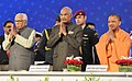 The President, Shri Ram Nath Kovind at the Concluding Session of the UP Investors Summit 2018, at Lucknow, in Uttar Pradesh.jpg