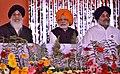 The Prime Minister, Shri Narendra Modi at a function in Punjab to mark 350th Birth Anniversary Celebrations of Shri Guru Gobind Singh Ji, in Punjab.jpg