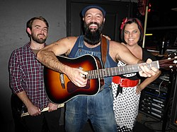 "Max Senteney, The Reverend Peyton and ""Washboard"" Breezy Peyton"