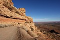The Road to Monument Valley, Comb Ridge, Looking Southwest to Mexican Hat (Route 261 Utah) (3468488058).jpg