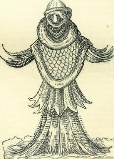 Sea monk marine monster of the Renaissance