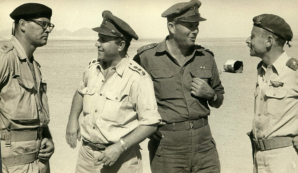 The Sinai War Generals