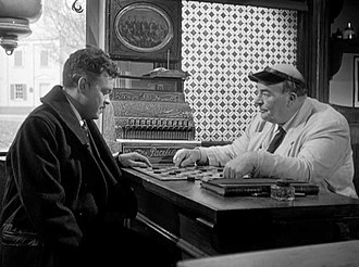 Billy House - House (right) and Orson Welles in The Stranger (1946)
