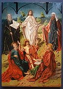 The Transfiguration by Maestro Bartolomé and workshop, 1480-1488, oil on panel - University of Arizona Museum of Art - University of Arizona - Tucson, AZ - DSC08362.jpg