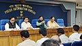 The Union Minister for Human Resource Development, Shri Prakash Javadekar addressing the press conference on the 64th meeting of the Central Advisory Board of Education (CABE), in New Delhi (1).jpg