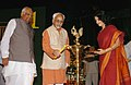 The Vice President, Md. Hamid Ansari inaugurating the first Anniversary of Lok Sabha Television Channel, in New Delhi on August 20, 2007.jpg