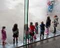 The Water Wall, National Gallery of Victoria, Melbourne, Australia, 15 Aug. 2010 - Flickr - PhillipC.jpg