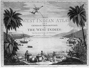 1733 slave insurrection on St. John - West Indies harbor