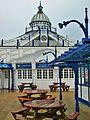 The camera obscura, Eastbourne pier.JPG