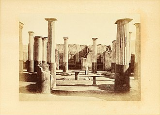 Thomas Henry Dyer - The ruins of Pompeii, by Thomas Henry Dyer