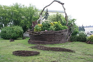 Wicker - Image: The worlds biggest wicker basket Nowy Tomyśl IMG 3338