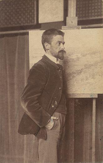 Theodore Robinson - Robinson in 1882