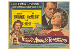 There's Always Tomorrow (1955 film) - Film poster by Reynold Brown