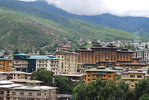 Economy of Bhutan - Image: Thimpu Bazar 31