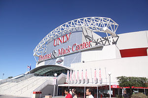 Thomas & Mack Center - Image: Thomas & Mack Center by Gage Skidmore