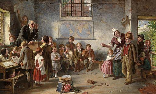 Thomas Brooks Der neue Schüler 1854