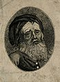 Thomas Parr, said to have died aged 152 years. Engraving. Wellcome V0007251EL.jpg