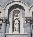 Thurles Cathedral South Portal Statue of Saint Mary 2012 09 06.jpg