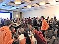 Thurs nite dinner Wikimania 2017 jeh.jpg