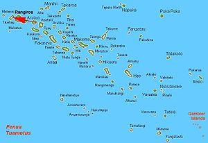 Tikehau - Image: Tikehau Locator Map