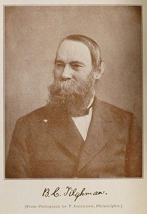 Benjamin Chew Tilghman - Tilghman photo by Frederick Gutekunst