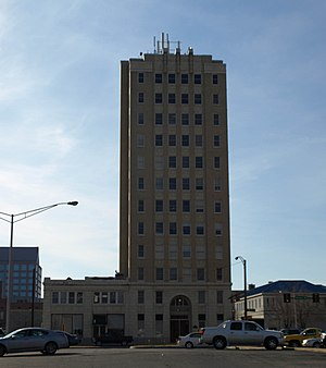 Times Building (Huntsville, Alabama) - Image: Times Building Dec 2009 01