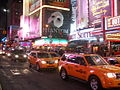 Times Square Taxis.JPG
