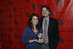 Tina Fey and Frazier Moore, June 2008 (2).jpg