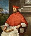 Tiziano - Portrait of Cardinal Antoniotto Pallavicini. 1540-s.jpg